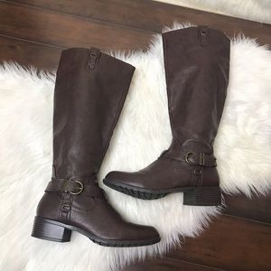 Rampage | Knee High Brown Riding Boots (9)